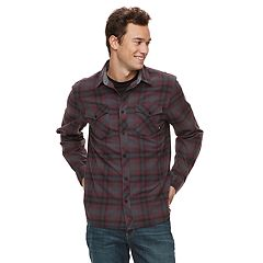 Men's Vans Stayed Flannel Button-Down Shirt
