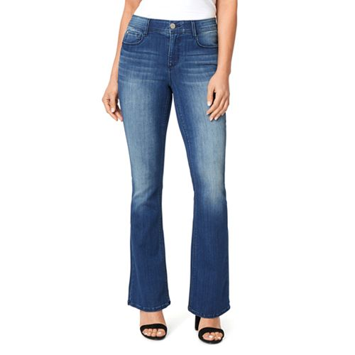 Women's Angels Ever Luxe Mini Bootcut Jeans
