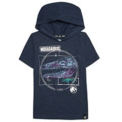 Boys 4-7x Jurassic World: Fallen Kingdom 'Mosasaurus' Hooded Tee