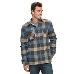 Men's Vans Make Mind Sherpa-Lined Shirt Jacket