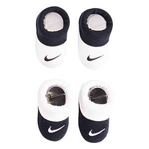 Baby Boy Nike 2-pack Black & White Booties