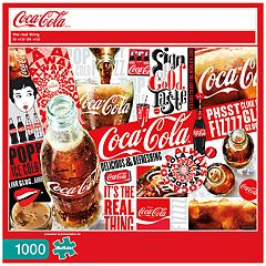 Buffalo Games 1000-Piece Coca-Cola: 'The Real Thing' Puzzle