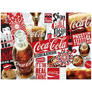 """Buffalo Games 1000-Piece Coca-Cola: """"The Real Thing"""" Puzzle"""