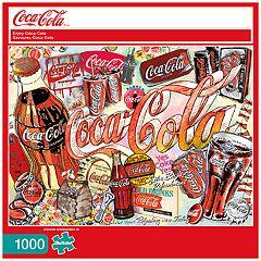 Buffalo Games 1000-Piece Coca-Cola: 'Enjoy Coca-Cola' Puzzle