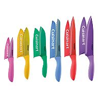 Cuisinart Advantage 12 pc Color Metallic Nonstick Cutlery Set