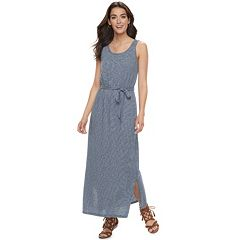 Petite SONOMA Goods for Life™ Scoopneck Maxi Dress