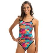Women's Dolfin Bellas Reversible One-Piece Swimsuit