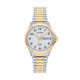Citizen Men's Two Tone Stainless Steel Expansion Watch - BF5004-93A