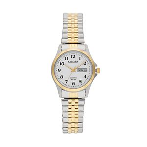 Citizen Women's Two Tone Stainless Steel Expansion Watch - EQ2004-95A