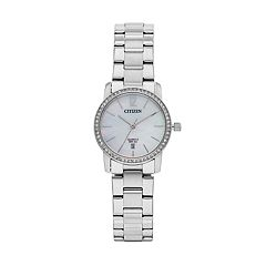 Citizen Women's Crystal Stainless Steel Watch - EU6030-81D