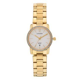 Citizen Women's Crystal Stainless Steel Watch - EU6032-85A