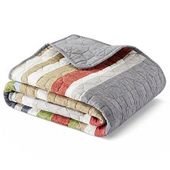 Eddie Bauer Salmon Ladder Quilted Throw