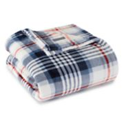 Eddie Bauer Summit Plaid Fleece Blanket