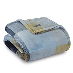 Eddie Bauer Yesler Plaid Fleece Blanket