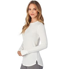 Plus Size Cuddl Duds Strecth Thermal Crewneck Top