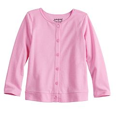 Baby Girl Jumping Beans® Button-Up Cardigan Sweater