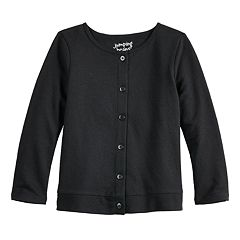 Baby Girl Jumping Beans® Button-Up Knit Cardigan