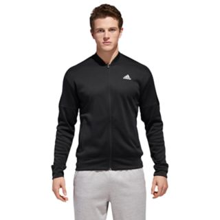 Men's adidas Team Issue Performance Fleece Bomber Jacket