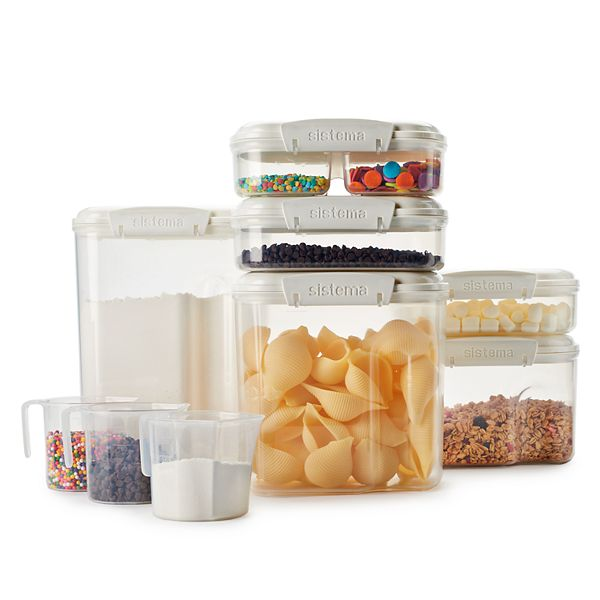 Sistema Bake It 15 Piece Bakery Storage Set