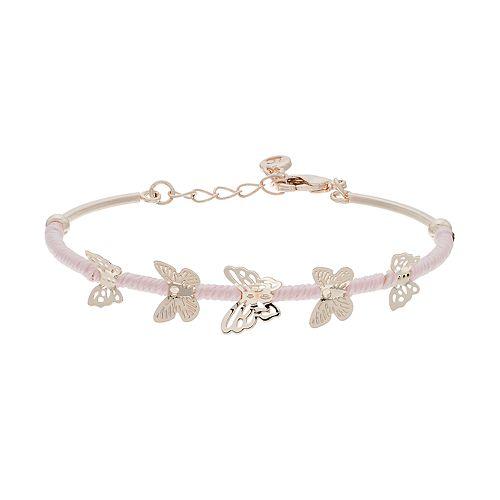 LC Lauren Conrad Butterfly Bracelet