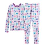 Girls 4-12 DC Comics Superhero Girls Top & Bottoms Set by Cuddl Duds