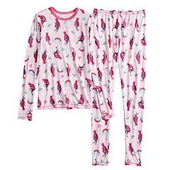 Girls 4-12 Cuddl Duds DreamWorks Trolls Poppy Top & Bottoms