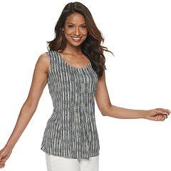 Sleepwear & Robes Radient Apt 9® Solid Henley & Plaid Flannel Lounge Pajama Pants Set