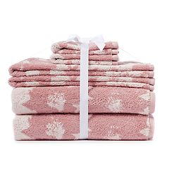 LC Lauren Conrad Floral 6-piece Bath Towel Set