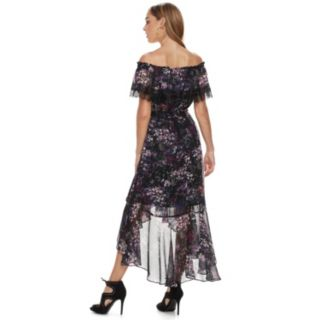 Women's Jennifer Lopez Off-the-Shoulder Maxi Dress