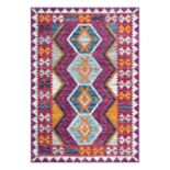 nuLOOM Mellie Tribal Framed Geometric Rug - 8' x 10'