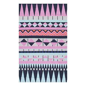 nuLOOM Bruna Geometric Wool Rug - 7'6'' x 9'6''