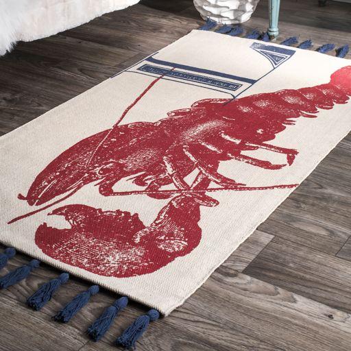 nuLOOM Thomas Paul Lobster Rug - 4' x 6'