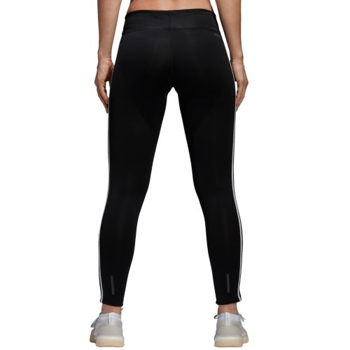 Women's Adidas Designed 2 Move Climalite 3 Stripe Midrise Leggings by Kohl's