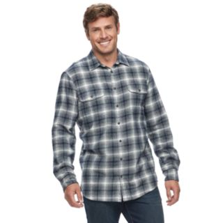 Big & Tall SONOMA Goods for Life? Supersoft Flannel Button-Down Shirt