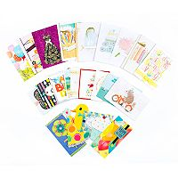 Hallmark 24-Count All Occasion Handmade Boxed Assorted Greeting Cards Set