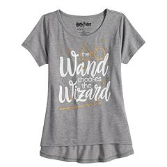 Girls 7-16 & Plus Size Harry Potter 'The Wand Chooses The Wizard' Graphic Tee