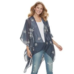 Women's SONOMA Goods for Life™ Embroidered Floral Kimono