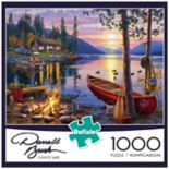 Buffalo Games 1000-Piece Darrell Bush: Canoe Lake Puzzle