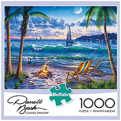 Buffalo Games 1000-Piece Darrell Bush:  Coastal Twilight Puzzle