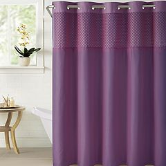 Hookless Bahamas Shower Curtain & Water Resistant Liner