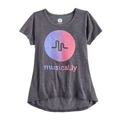 Girls 7-16 & Plus Size 'Musical.ly' Ombre Tee