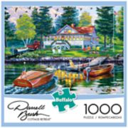 Buffalo Games 1000-Piece Darrell Bush:  Cottage Retreat Puzzle