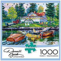 Buffalo Games 1000-Piece Darrell Bush:  Cottage Retreat Puzzle