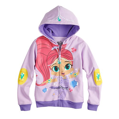 Girls 4-6x Shimmer & Shine Shimmer Graphic Hoodie