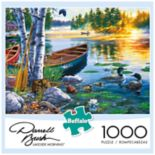 Buffalo Games 1000-Piece Darrell Bush:  Lakeside Morning Puzzle