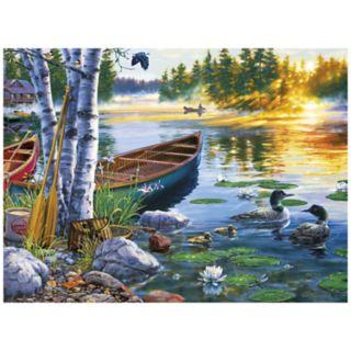 Buffalo Games 1000-Piece Darrell Bush:  Lakeside Morning Puzzle