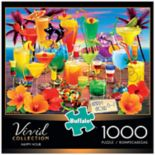 Buffalo Games 1000-Piece Vivid: Happy Hour Puzzle