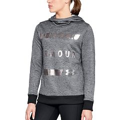 Women's Under Armour Fleece Metallic Graphic Hoodie