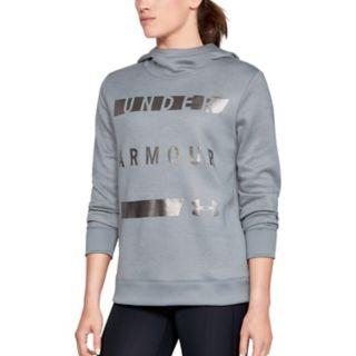 Women's Under Armour Fleece Metallic Graphic Hoodie