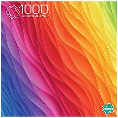Buffalo Games 1000-Piece Vivid: Color Challenge Puzzle